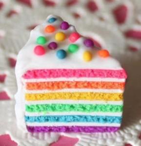 Resep Rainbow Cake Kukus Mudah dan Praktis