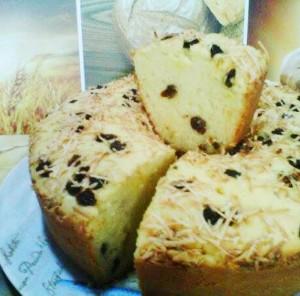 Cara Membuat Kue Tape Singkong Kismis Keju