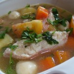 Cara Membuat Sup Ikan Salmon Spesial Sedap