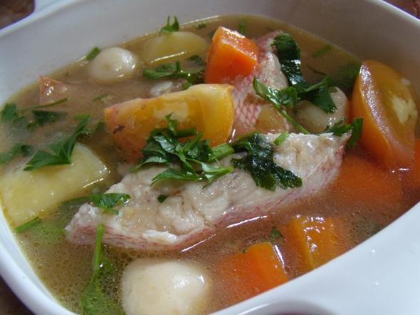 Resep Membuat Sup Ikan Salmon