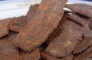 cara membuat Keripik Pisang Coklat