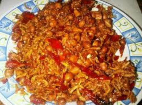 Resep Teri Kacang Pedas Spesial Nikmat Lezat