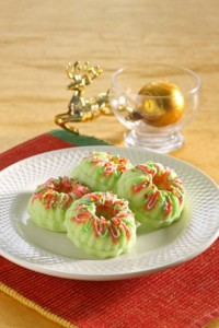 cake kukus melon