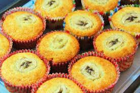 cup cake pisang
