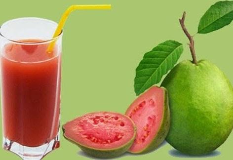 jus jambu merah
