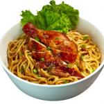Resep Membuat Lamien Ayam Panggang Enak Sederhana