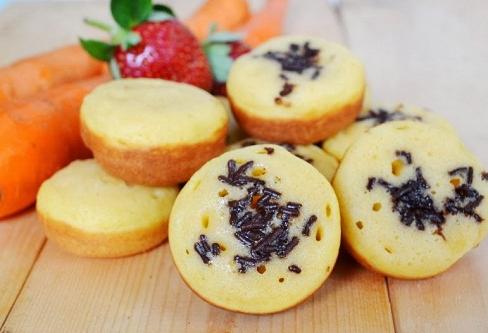 resep kue cubit kukus cokelat mini