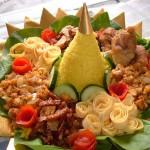Cara Membuat Nasi Kuning Tumpeng Enak Sederhana