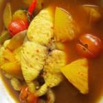 Resep Membuat Ikan Tenggiri Bumbu Kuning Pedas Mantap