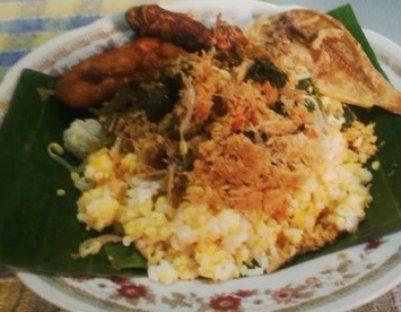 Cara Membuat Nasi Jagung Komplit Nikmat