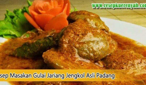 Gulai Jariang Jengkol