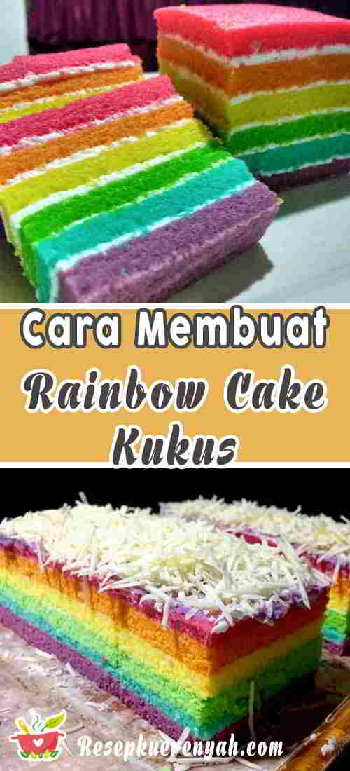 Cara-Membuat-Rainbow-Cake-Kukus