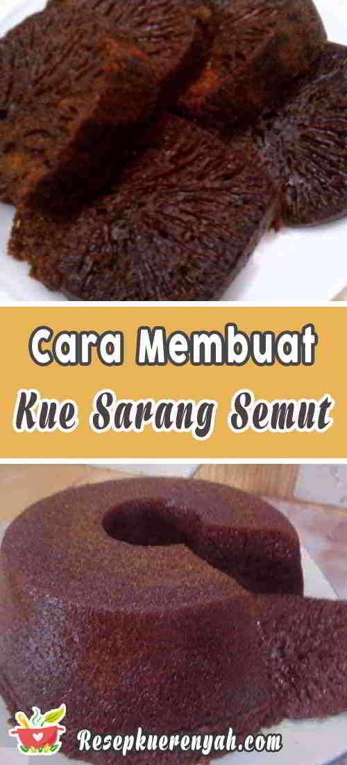 Resep Kue Sarang Semut Mudah Dan Praktis