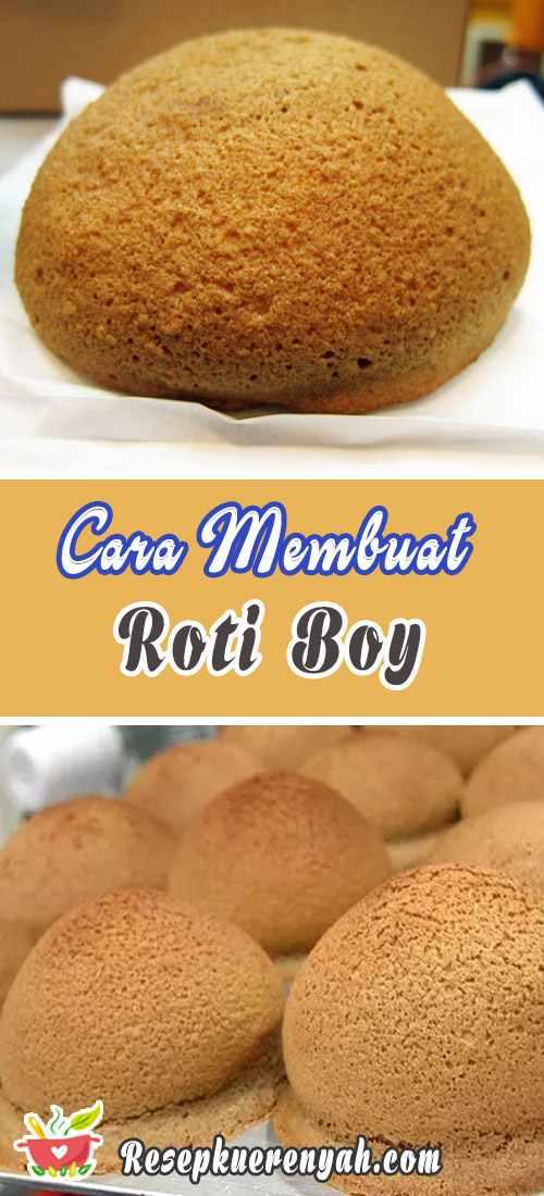 Cara Membuat Roti Boy