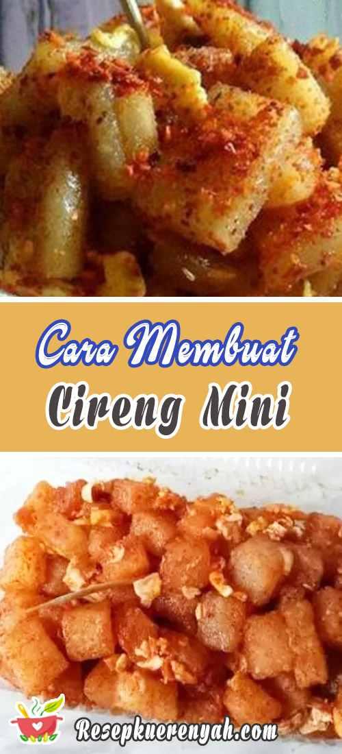 Cara Membuat Cireng Mini