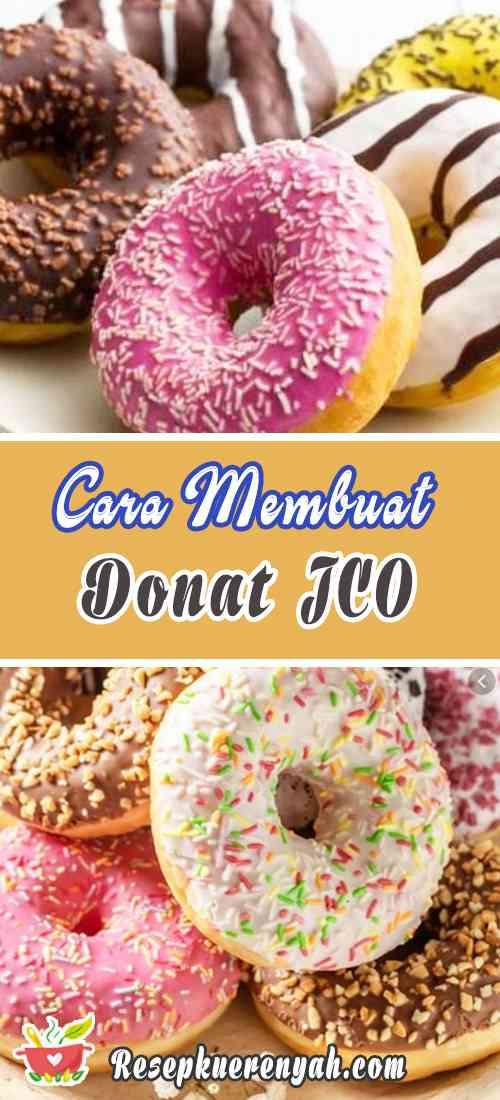 Cara Membuat Donat Jco