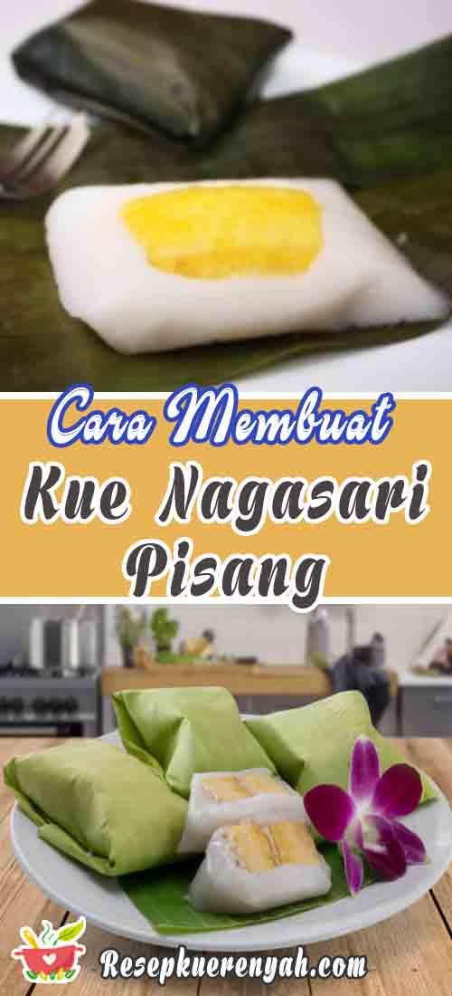Cara Membuat Kue Nagasari Pisang
