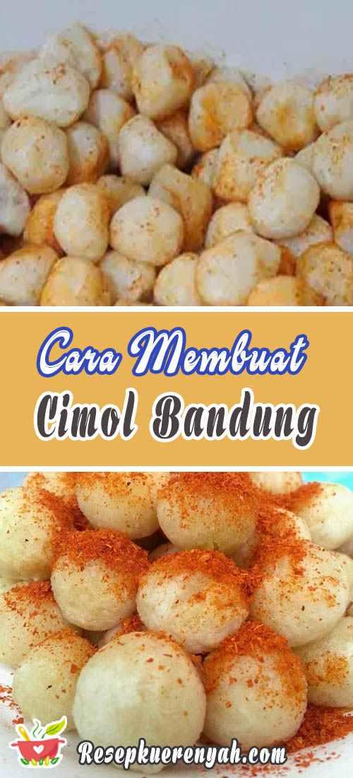 Cara Membuat Cimol Bandung