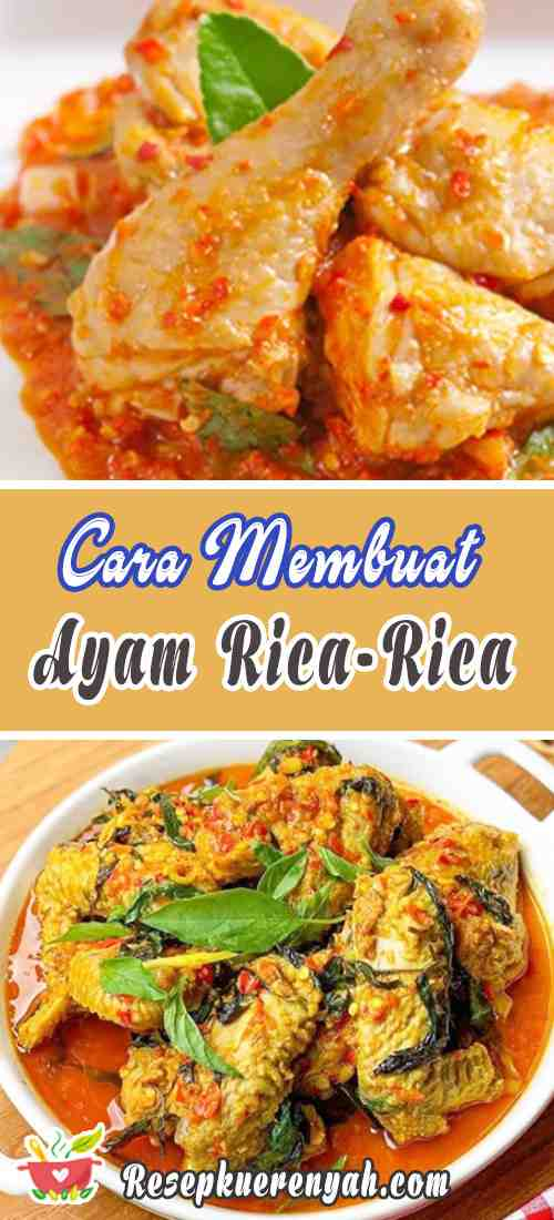 Cara Membuat Ayam Rica Rica