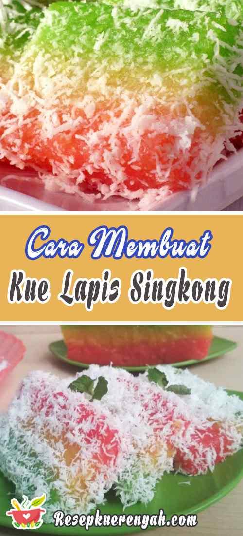 Cara Membuat Kue Lapis Singkong