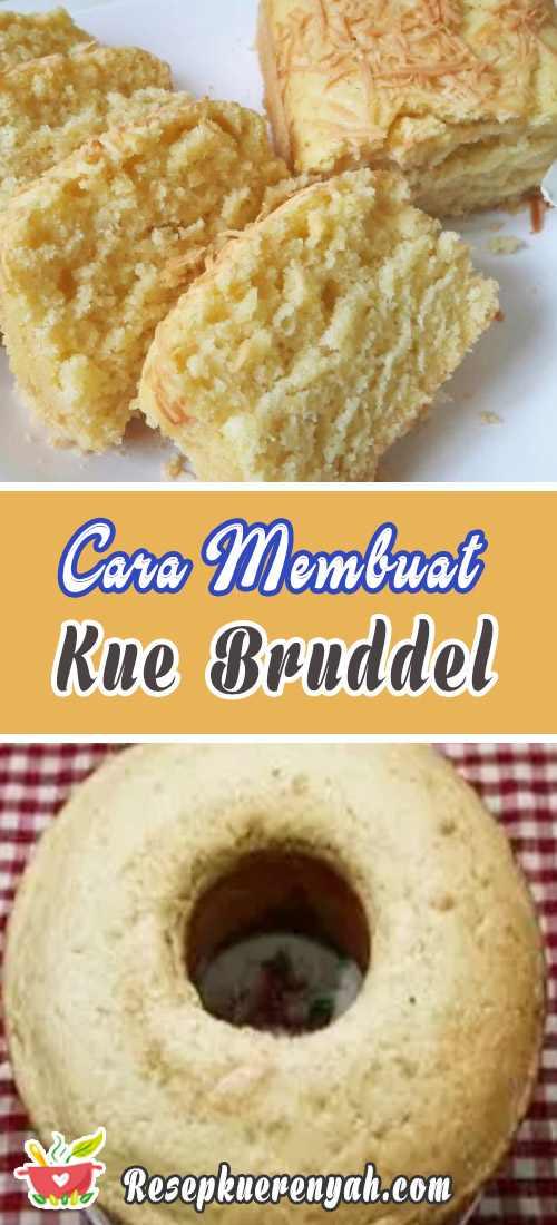 Cara Membuat Kue Brudel Manado