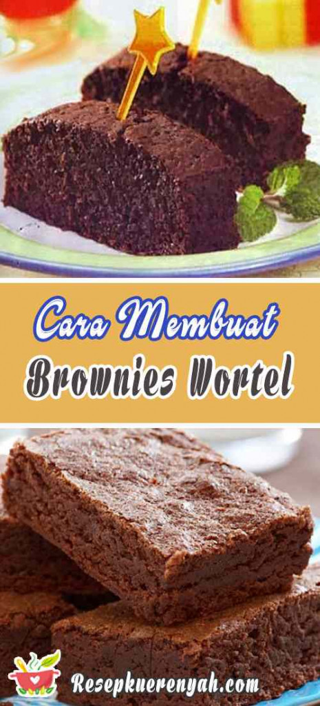 Cara Membuat Brownies Wortel