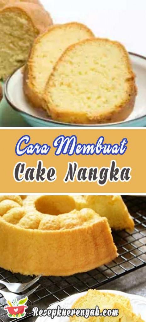 Cara Membuat Cake Nangka
