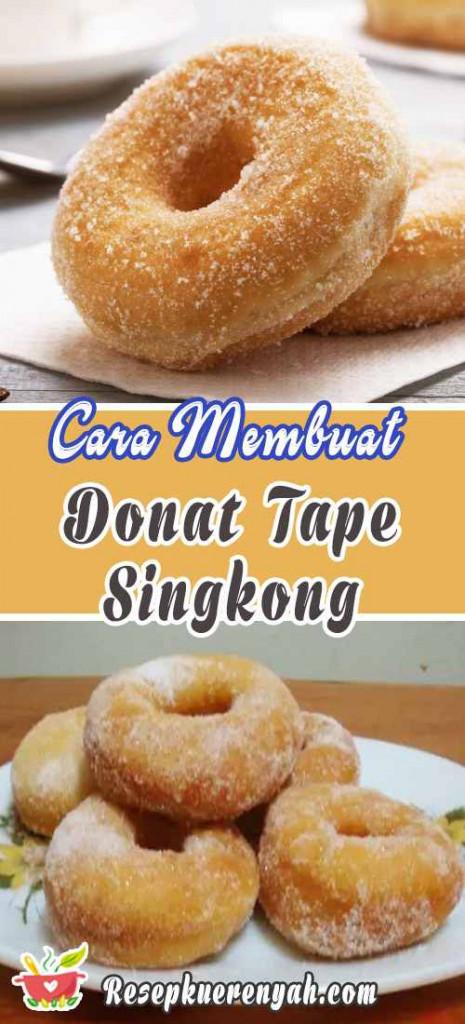 Cara Membuat Donat Tape Singkong