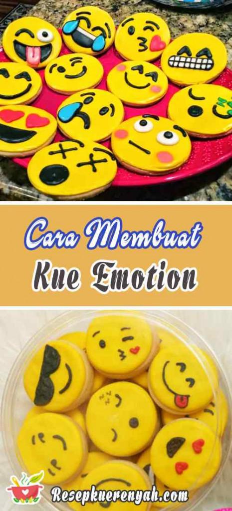 Cara Membuat Kue Emotion