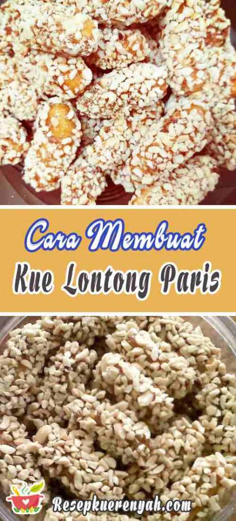 Cara Membuat Kue Lontong Paris