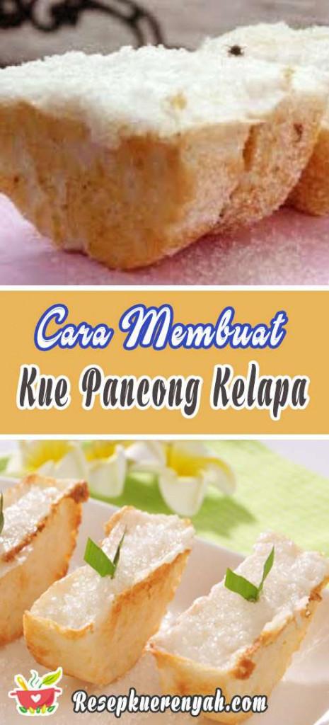 Cara Membuat Kue Pancong Kelapa