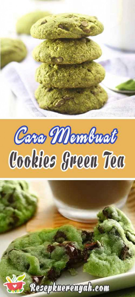 Cara Membuat Cookies Green Tea
