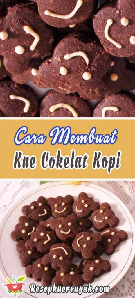 Cara Membuat Kue Kering Cokelat Kopi