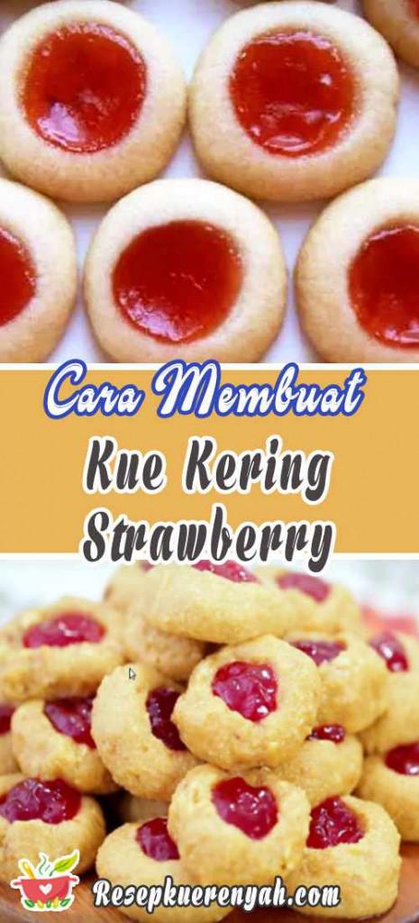 Cara Membuat Kue Kering Strawberry