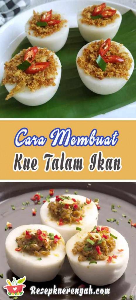 Cara Membuat Kue Talam Ikan