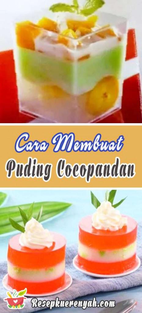 Cara Membuat Puding Cocopandan