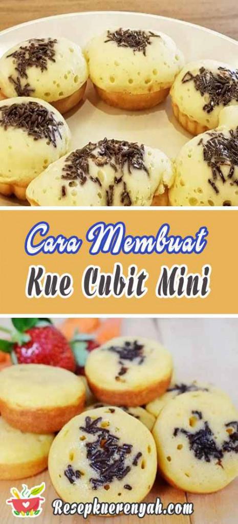 Cara Membuat Kue Cubit Mini Kukus