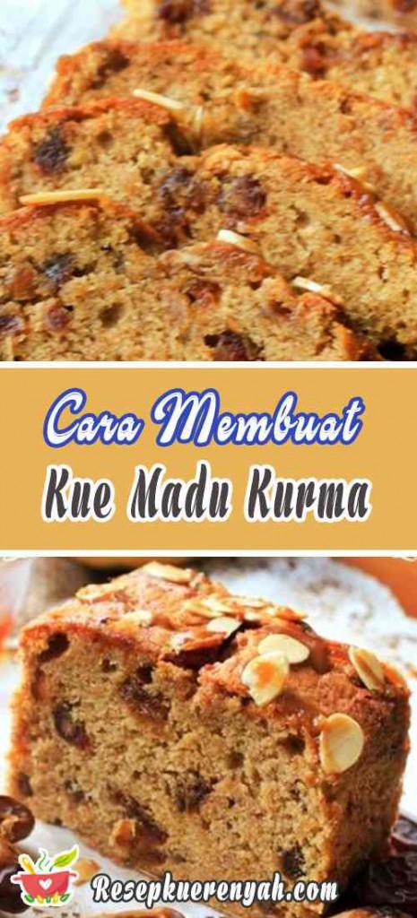 Cara Membuat Kue Madu Kurma