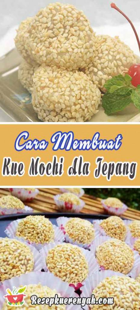 Cara Membuat Kue Mochi Ala Jepang