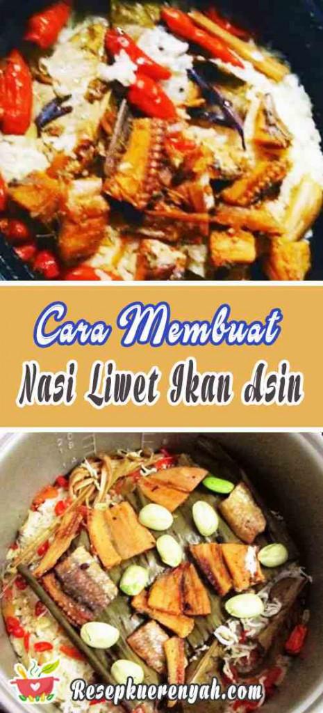 Cara Membuat Nasi Liwet Ikan Asin Khas Sunda