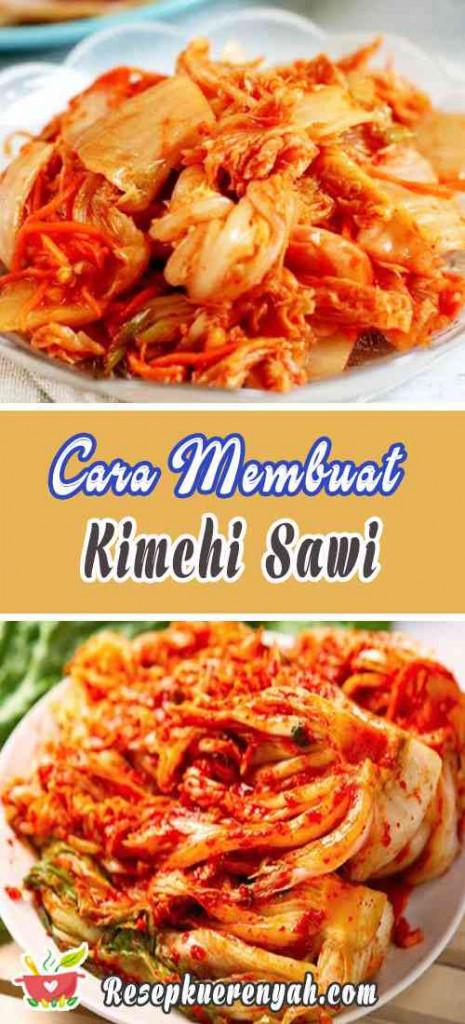 Cara Membuat Kimchi Sawi