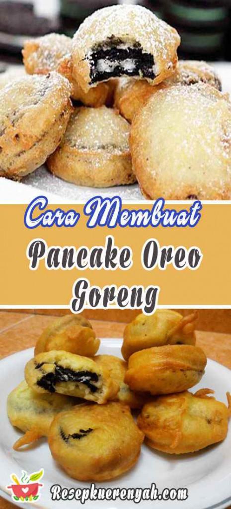 Cara Membuat Pancake Oreo Goremg