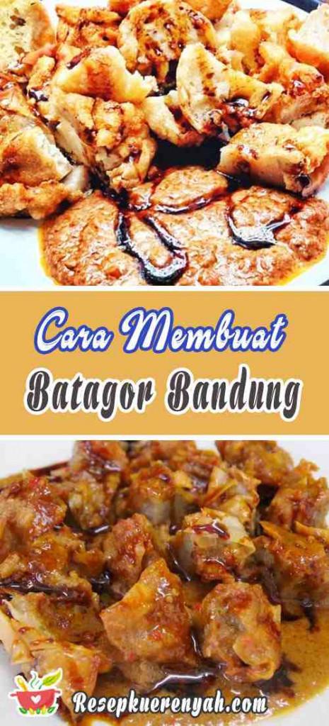 Cara Membuat Batagor Bandung