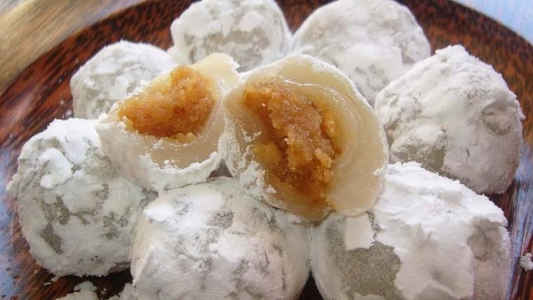 Resep Kue Mochi Isi Kacang Tanah - Resep Kue Mochi Isi Kacang Tanah