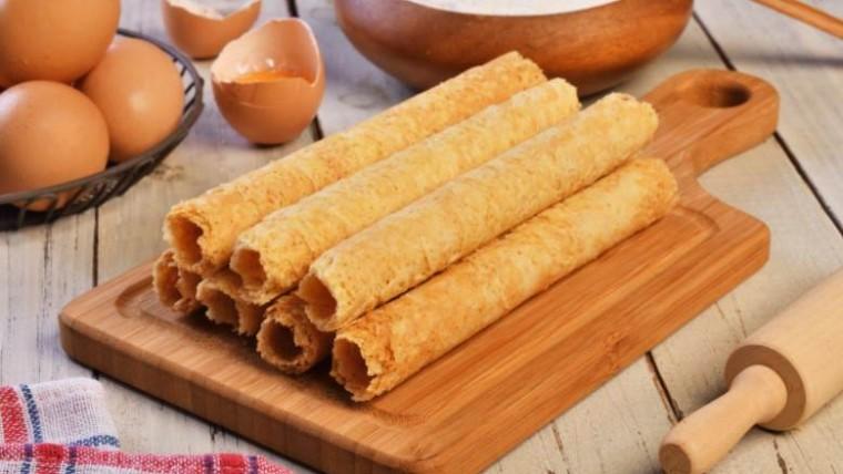 Cara Membuat Egg Roll Ala Monde - Resep Egg Roll Ala Monde