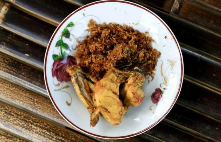 Resep Ayam Serundeng - Resep Ayam Serundeng